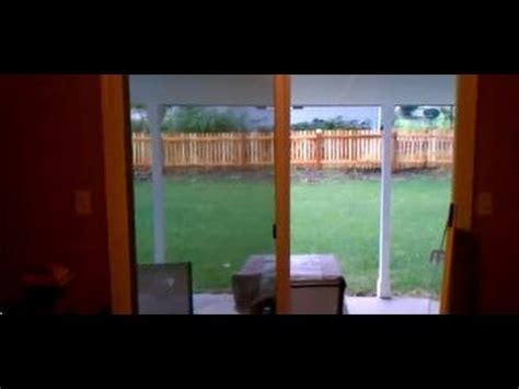 fix  sticky sliding glass door youtube