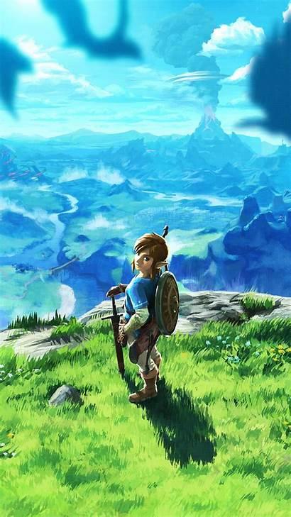 Zelda Breath Wild Legend Iphone Wallpapers Backgrounds