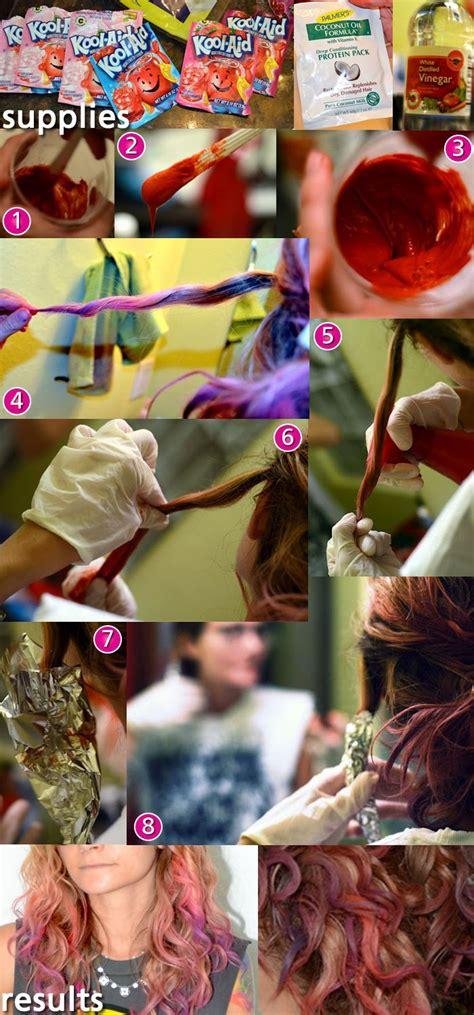 Kool Aid Dye Job Tutorial Diy Howto Ombrehair Fashion