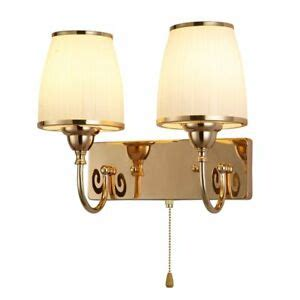 gold bedroom bedsides wall lights glass shade corridor balcony wall sconces l ebay