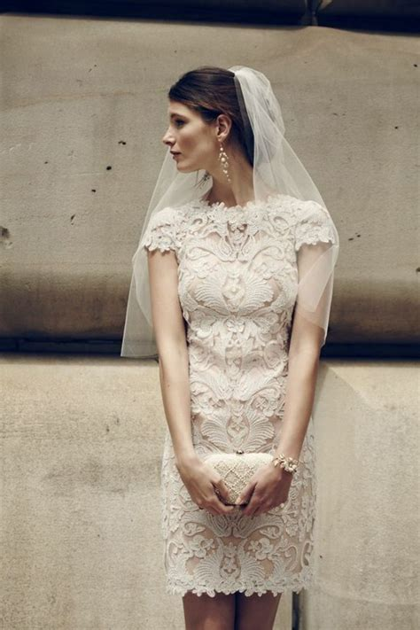 robe de mariée blanche et robe de mariage civil en 60 images tendances 2016 2017