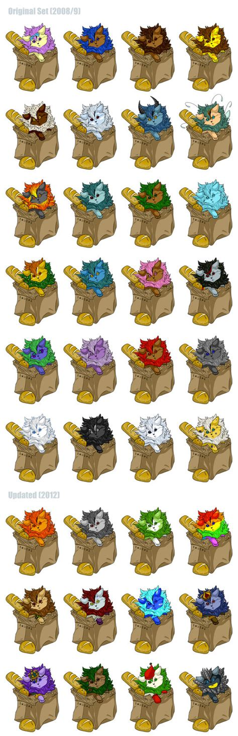 xweetok paint colors neopets bread bag xweetok adoptables updated by tehtwi