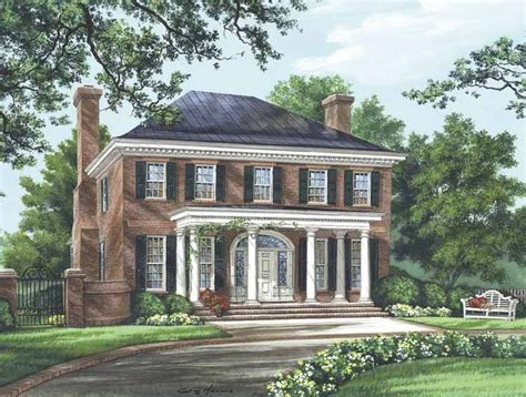 Federal House Plans by Eplans Adam Federal House Plan The Bristol 3280