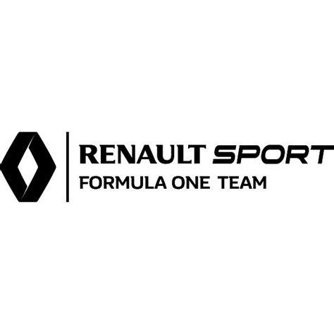 Autocollants Renault Sport Formule 1, Course Automobile ...