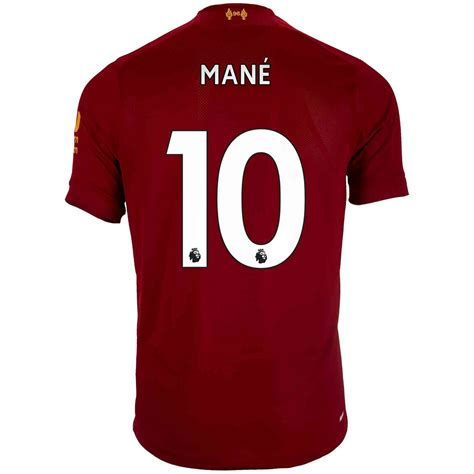 Preferential policy if you order more than 20 pieces at a time, please email us. 2019/20 New Balance Sadio Mane Liverpool Home Jersey ...