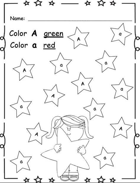 Kindergarten Worksheets Letter Recognition  Letter Recognition Games Scramble School