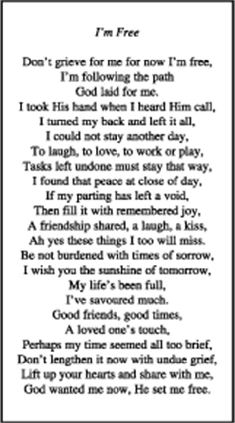You will also find them distributed at visitations, wakes, memorial services, and celebrations of life. Quotes For Funeral Card. QuotesGram