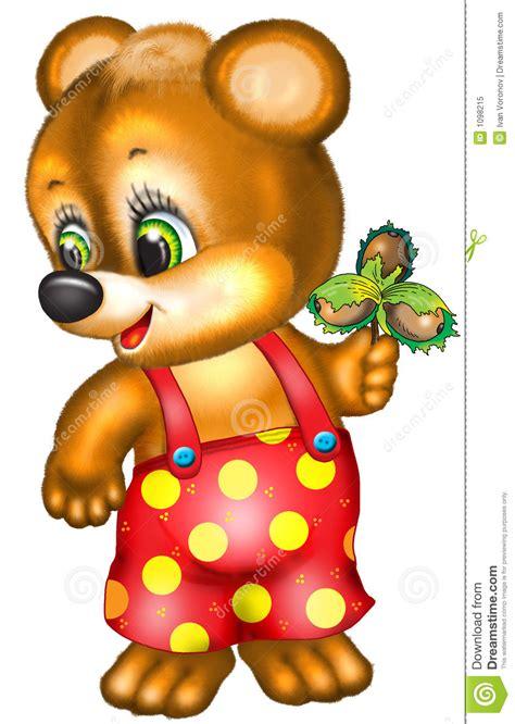 cartoon bear royalty  stock photo image