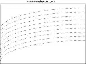 Free Printable Tracing Lines Worksheets Preschool