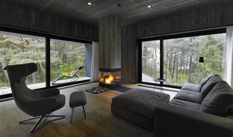 concrete  timber seaside house