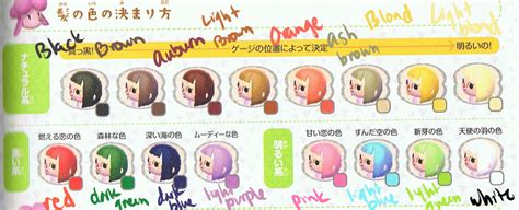 animal crossing new leaf hair colors 1000 images about animal crossing on animal