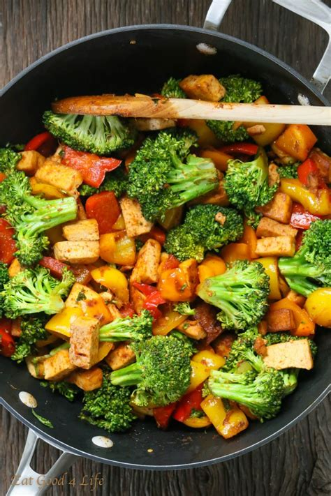Firm, extra firm, and super firm tofu are all pretty similar, but do have their differences. Quick Veggie Tofu Stir-fry