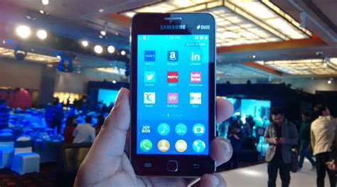 samsung z1 is phone to run tizen will cost rs 5 700 the indian express