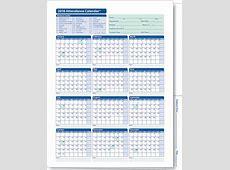 Attendance Calendar 2017 Template Calendar Template 2018