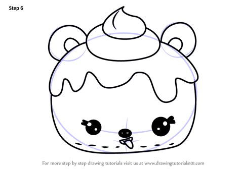 Learn How To Draw Betsy Bubblegum From Num Noms (num Noms