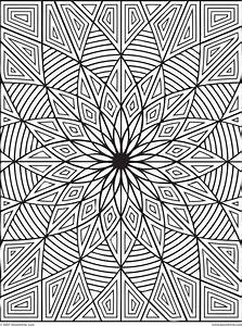 Coloring Pages: Geometric Patterns Colouring Pages ...