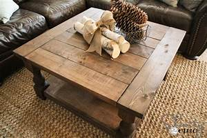 plans for building a round coffee table – furnitureplans