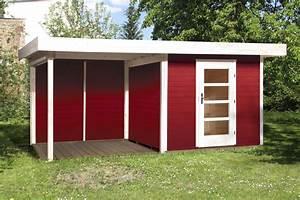Gartenhaus Mit Holzlager : gartenhaus schwedenrot ~ Whattoseeinmadrid.com Haus und Dekorationen