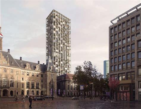 Post Kantoor Rotterdam by Postkantoor Coolsingel Krijgt 150 Meter Hoge Woontoren