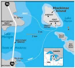 Mackinac Island Map