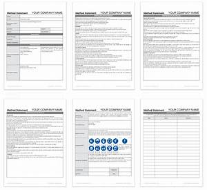 blank method statement template free darley pcm With electrical installation method statement template free