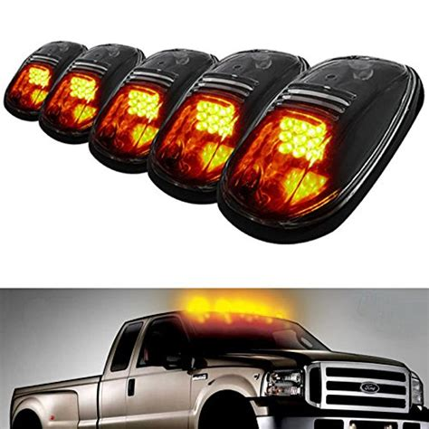 lights on top of truck ijdmtoy 5pcs led cab roof top marker running lights
