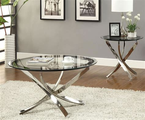 Parell glam metal and glass coffee table, metallic silver by ember interiors walmart usa. 30 Glass Coffee Tables that Bring Transparency to Your Living Room