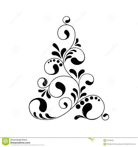 silueta de árbol de navidad silueta 225 rbol de navidad ilustraci 243 n vector imagen 62796635