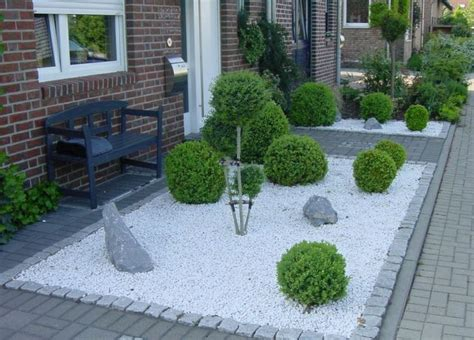 Vorgarten Gestalten Mit Kies Und Gräsern|garten Modern And