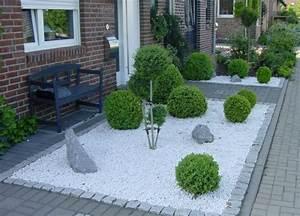 Garten Bepflanzen Ideen : garten ideen mit schotter gartengestaltung mit zierkies ~ Lizthompson.info Haus und Dekorationen