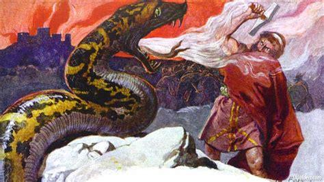 Jörmungandr - The Midgard Serpent - Norse mythology