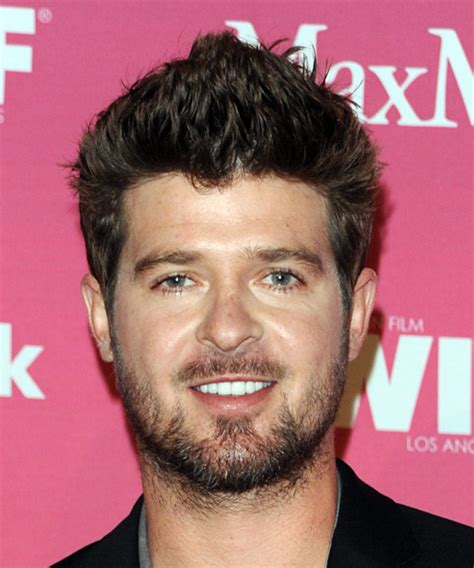 robin thicke hairstyles hair cuts  colors