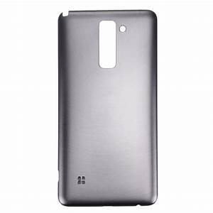 Replacement For Lg Stylo 2    Ls775 Back Cover  Grey