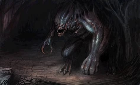 Monster demon creature dark fantasy wallpaper | 5400x3300 ...