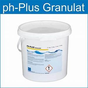 Ph Wert Einstellen : ph plus granulat ist ideal zum anheben des ph wert im schwimmbadwasser wasserpflegeprodukte ~ Eleganceandgraceweddings.com Haus und Dekorationen