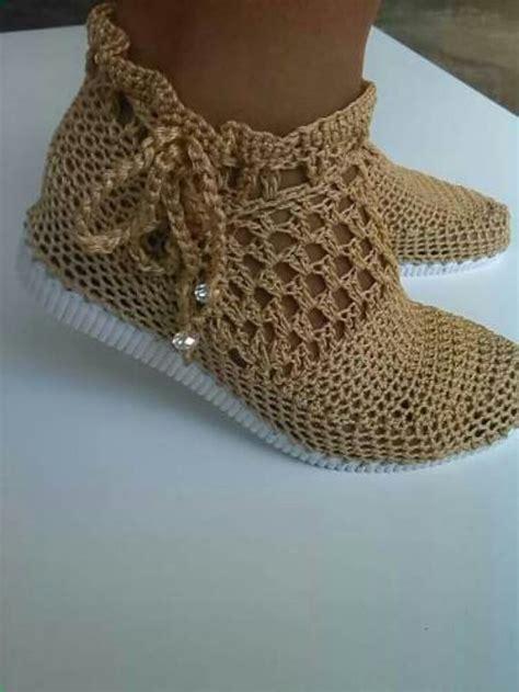 zapatos de varon tejidos al crochet las 25 mejores ideas sobre zapatos tejidos en