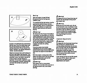 Stihl Fs 80 85 Trimmer Owners Manual