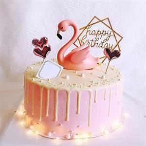 Kuchen Dekorieren Geburtstag : flamingo kuchen topper hochzeit figur engagement dekoration jahrestag kinder erwachsene ~ Pilothousefishingboats.com Haus und Dekorationen