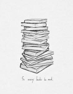 pile of books drawing - Google Search (With images)   Book