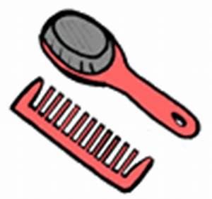 Combing Hair Clipart | ClipArtHut - Free Clipart