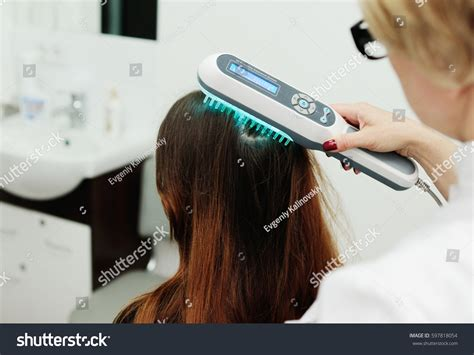 light therapy for psoriasis treatment scalp hair structure study phototherapy stock