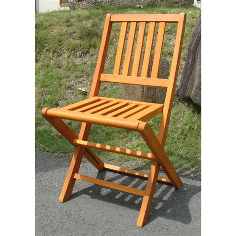 wood patio chairs vifah 174 marcana outdoor wood folding chairs set of 2