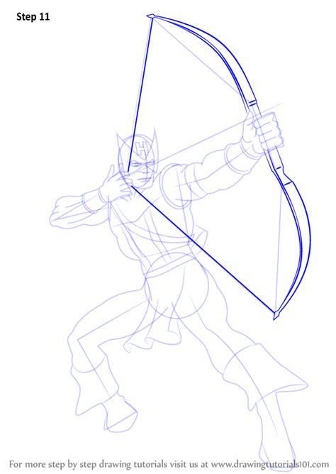 learn   draw hawkeye hawkeye step  step drawing