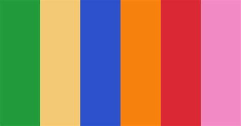 Bright Psychedelic Color Scheme » Blue » SchemeColor.com