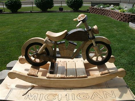 motorcycle rocker woodworking blog  plans
