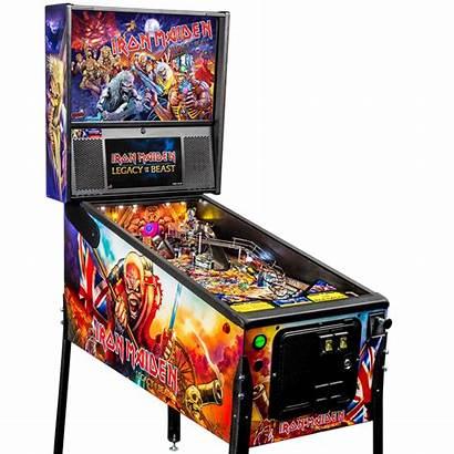 Pinball Machine Maiden Iron Legacy Machines Beast