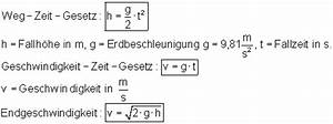 Freier Fall Geschwindigkeit Berechnen : bewegung und energie ~ Themetempest.com Abrechnung