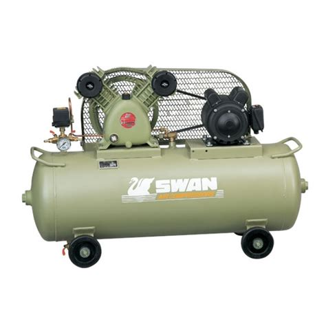 swan hp air compressor  series  tank svp