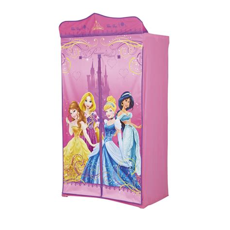 Disney Princess Fabric Wardrobe Children Furniture Bedroom