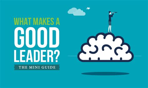 What Makes A Good Leader? The Miniguide  When I Work